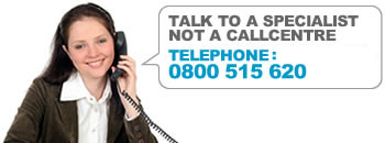 Talk to a specialist not a call centre Telephone: 0161 667 3650